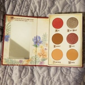Story book cosmetics red riding hood palette nib